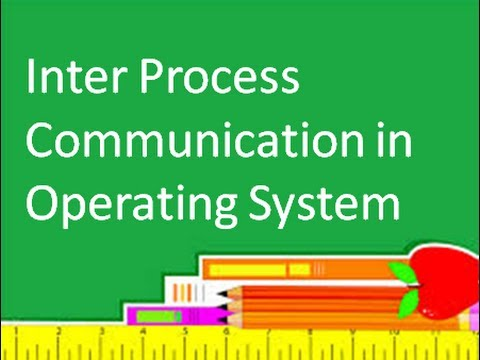 Operating System: Inter Process Communication: Message Passing Shared Memory
