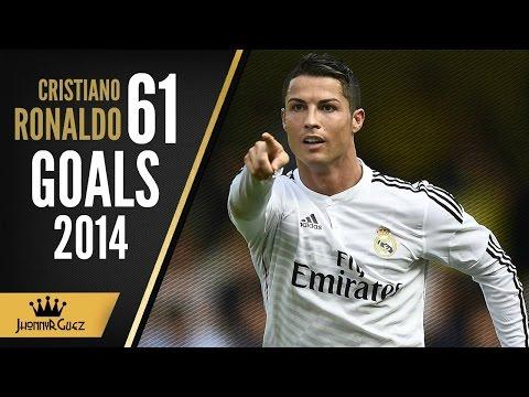 cristiano ronaldo tutti i 61 goal 2014/2015