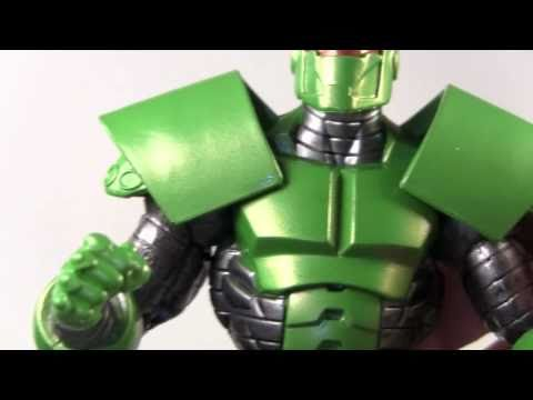 Iron Man Legends Titanium Man 6 Inch Comic Series Action Figure Toy Review