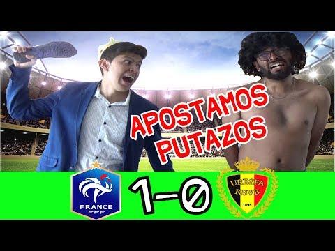 MEXICANOS reaccionan a FRANCIA vs BÉLGICA