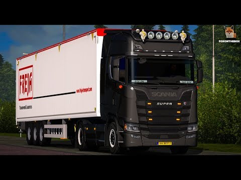 Scania V8 Open Pipe Next Stage IV v2.0 by adi2003de