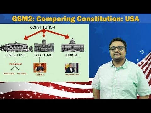 CmC/P1: Comparing Constitution: USA- Bill of Rights, separation of Powers for GSM2