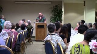 February 25, 2015 Dennis Francis speaks to the Hawaii Island Chamber of Commerce and the Big Island Press Club about the...
