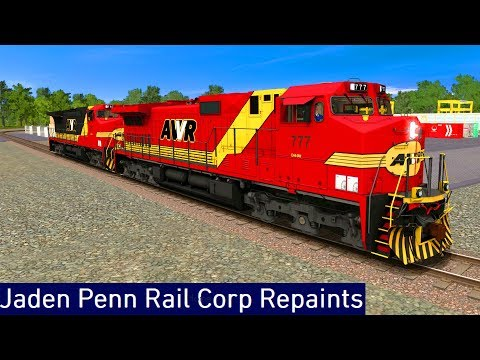 Trainz A New Era [ JPRC Repaints Add-On ] - AWVR C44-9W (FreeWare)