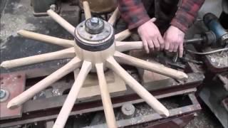 Video wooden wheel making .wheelwrights. MP3, 3GP, MP4, WEBM, AVI, FLV Januari 2019