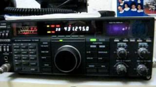 Prime radiocomunicazioni dopo il terremoto 6/04/2009
