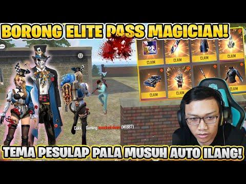 FULL MAX ELITE PASS MAGIC! LANGSUNG BOOYAH RATA SEMUA PALA MUSUH!