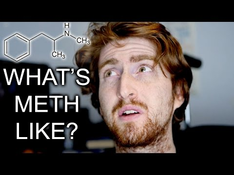 An ex-meth addict describes in detail what it feels like to take meth - it's a long video but I found it incredibly interesting (and scary)