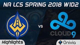 Video GGS vs C9 Highlights NA LCS Spring 2018 W1D2 Golden Guardians vs Cloud9 by Onivia MP3, 3GP, MP4, WEBM, AVI, FLV Agustus 2018