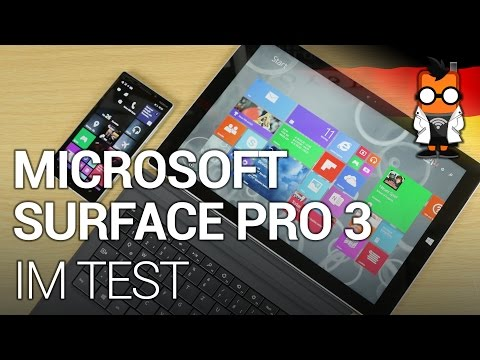Microsoft Surface Pro 3 im Test [DEUTSCH]