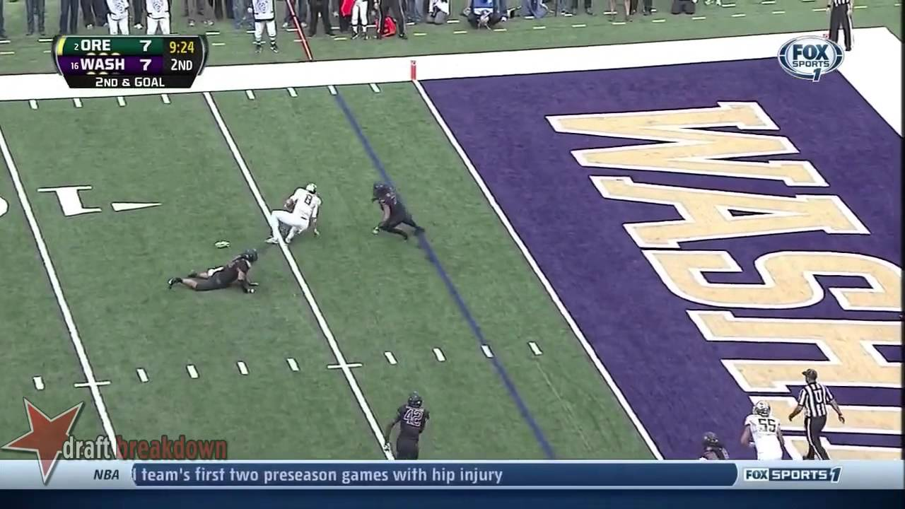 Marcus Mariota vs Washington (2013)