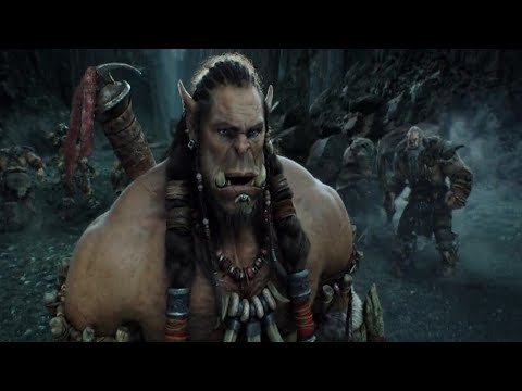 Fight between man. And Orcs| Warcraft |in telugu