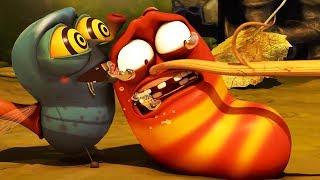 Video LARVA - TUG OF WAR | Cartoon Movie | Cartoons For Children | Larva Cartoon | LARVA Official MP3, 3GP, MP4, WEBM, AVI, FLV Desember 2018