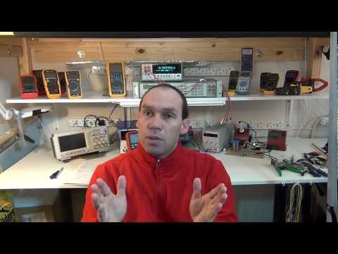 4 ohm - A tutorial on George Ohm's law for basic electronics and the relationship between current, voltage and resistance. Want a calculator? : http://astore.amazon....