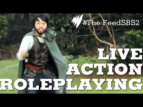 roleplaying - he Towering Troll, The Silken Elf, The Wrinkled halfling are all things you can become when you go LARPING. Live action role playing is growing with many fan...