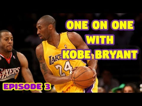 [One on One with Kobe Bryant] Episode 3: Andre Iguodala and Making up for Lost Time