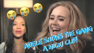 Adele and Beyonce Watch Nicki Minaj's BET Performance (w/ Rihanna)