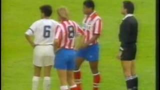 Paulo Futre trifft im spanischen Pokalfinale