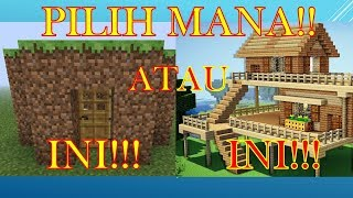 "Video ""RUMAH PERTAMA SURVIVAL HARUS BAGAIMANA!!??"" How To Survival In Minecraft #2 MP3, 3GP, MP4, WEBM, AVI, FLV Maret 2018"