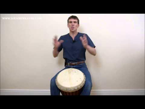 Djembe Lesson: Sliding Solo Phrases In Fives