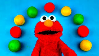 Laugh Out Loud Elmo Play-Doh Surprise Eggs Peppa Pig Cars 2 Spongebob Hello Kitty Daisy FluffyJet