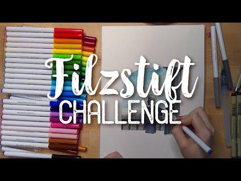 Kinder Filzstift Challenge 💦 50 Crayola Marker für 10€
