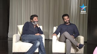 Video Taraka Sametha Trivikram - NTR & Trivikram ' Aravinda Sametha' Special Interview MP3, 3GP, MP4, WEBM, AVI, FLV Oktober 2018