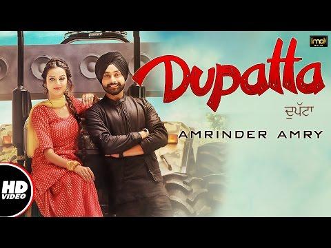 Dupatta (Full Video) | Amrinder Amry | Mista Baaz | Latest Punjabi Songs 2016 | IMA Music
