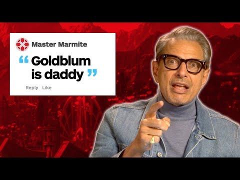 Jeff Goldblum Responds To IGN's Thor Comments