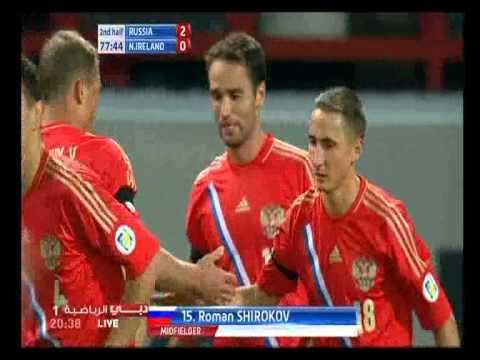 Russia v Northern Ireland 2-0 All Goals & Highlights 07-09-2012