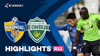 [하나원큐 K리그1] R11 울산 vs 전북 하이라이트 | Ulsan vs Jeonbuk Highlights (21.04.21)