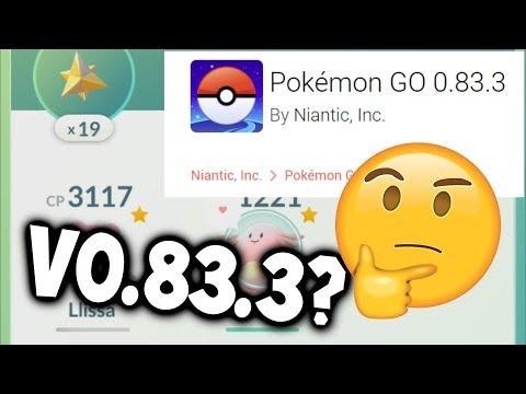 RANDOM NEW UPDATE FOR POKEMON GO AGAIN?! - Pokémon GO Update V0.83.3