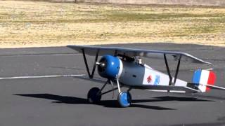 1/4 Scale Nieuport 17