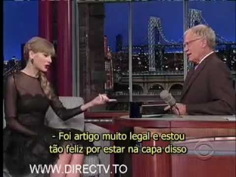 23/10/2012 David Letterman entrevista Taylor Swift