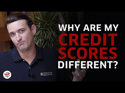 WHY CREDIT SCORES DIFFER BETWEEN CREDIT REPORTING AGENCIES (and what does it mean to you?)