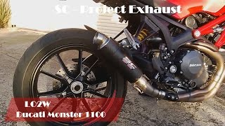 9. Top 6 Full Exhaust Sound Ducati Monster 1100 / Arrow, Leo Vince, SC-Project, GPR