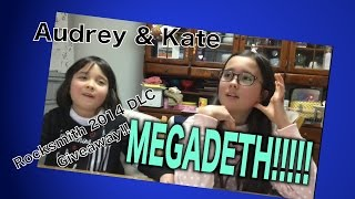CLOSED- PICKING WINNER Audrey & Kate talk about Megadeth Song Pack II DLC DLC for ROCKSMITH 2014!! Please leave a comment and 1 LUCKY WINNER will receive Meg...