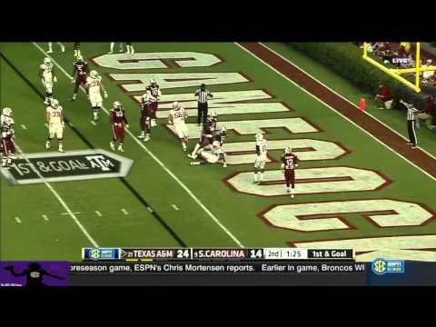 Kenny Hill vs South Carolina 2014 video.