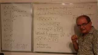 Algebra Intermedia - Lección 5 - B (multiplicación Y División De Radicales Con Diferente Orden)