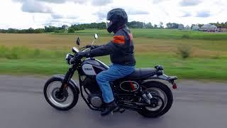 7. Yamaha SCR950 Road Test