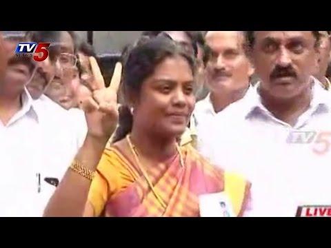 Tangirala Sowmya Won Nandigama Assembly Seat : TV5 News