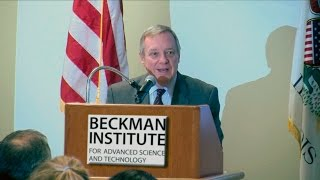 Thumbnail of Senator Durbin on Funding for Biomedical Research (Full Presentation) video