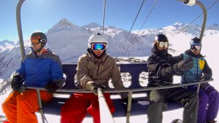 Tignes France  city images : SNOWBOARDING IN TIGNES FRANCE - GoPro
