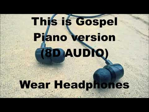 Panic! at the Disco - This is Gospel (Piano Version) (8D AUDIO)