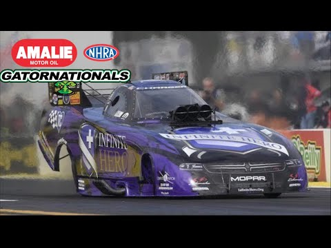 2018 NHRA Gatornationals | Funny Car Eliminations