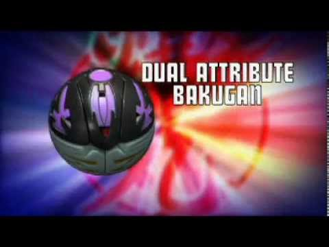 Dual Attribute Bakugan