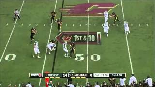 Johnny Adams vs Central Michigan (2012)