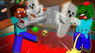 STEVE And ALEX EVIL HAUNTED HOUSE - MINECRAFT STEVE AND ALEX [206]