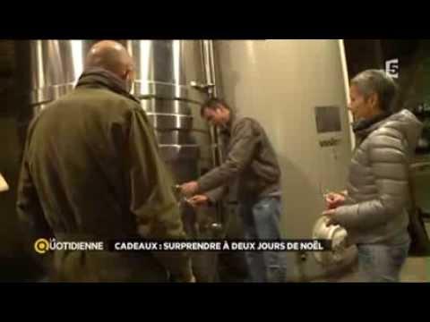 Cadeaux de Noël spécial vin – France 5 – La Quotidienne du 23/12/2013