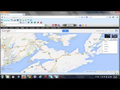 NOVA SCOTIA LOOK LIKE A BEAR ON GOOGLE MAP